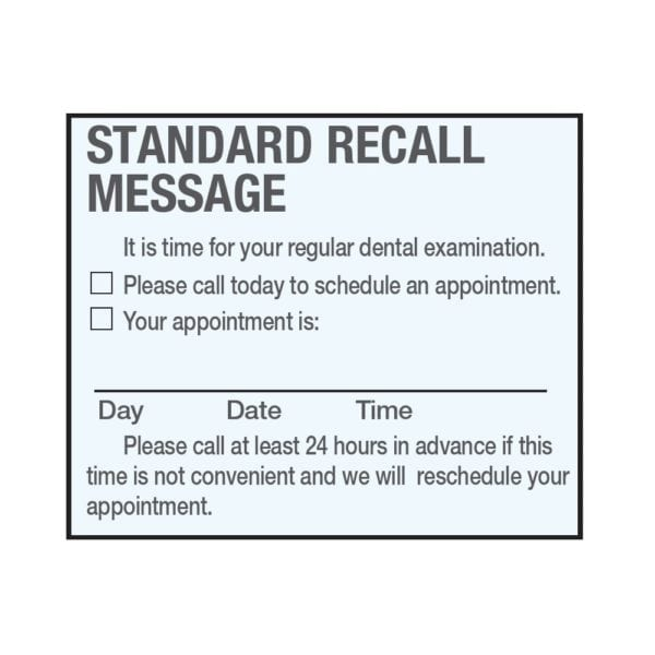 recall-message