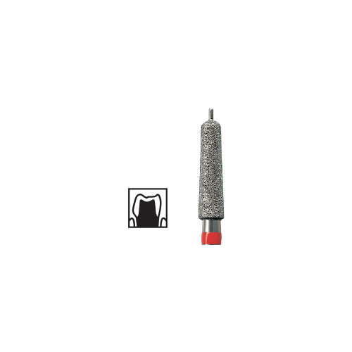 NTI Round End Taper With Guide Pin Diamond Burs FG 5pcs – ISO No 998 - Picture 1
