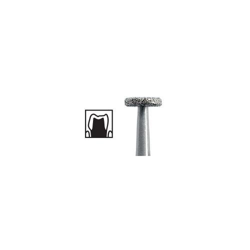 NTI Wheel Diamond Burs FG 5pcs - ISO No 818 - Picture 1