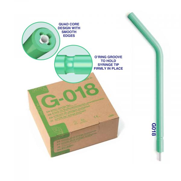 ID 24440 – Greenline Disposable 'a' Air-Water Syringe Tips